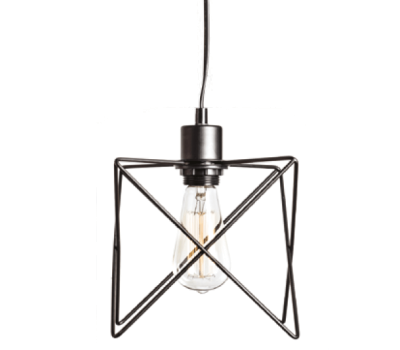ACA LIGHTING KS1462P1BK