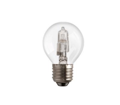 Халогенна еко крушка Aca Lighting 182027018E E27 P45 18W 2700K SPHERE