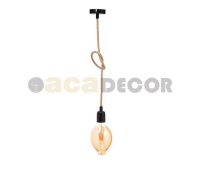 ACA LIGHTING 40BRT ROPE VINTAGE