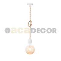 ACA LIGHTING 40WRR ROPE VINTAGE