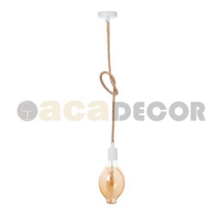 ACA LIGHTING 40WRT ROPE VINTAGE