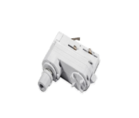 ACA LIGHTING 4WADW ADAPTOR WHITE