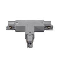 Т-образен конектор за трифазна тоководеща шина ACA LIGHTING 4WTG СИВ