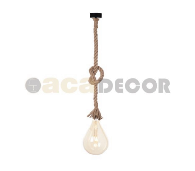 ACA LIGHTING 50BR ROPE VINTAGE