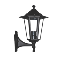 Градински аплик ACA LIGHTING HI6021B HEXAGON WALL GARDEN