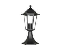 ACA LIGHTING HI6023B HEXAGON BOLLARD GARDEN
