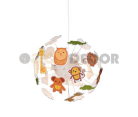 ACA LIGHTING MD160224ZOO KIDS