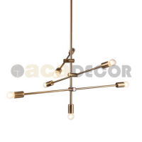 ACA LIGHTING OD680107BR VINTAGE