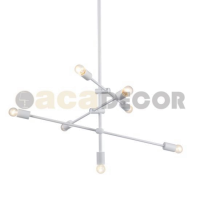 ACA LIGHTING OD680107WH VINTAGE