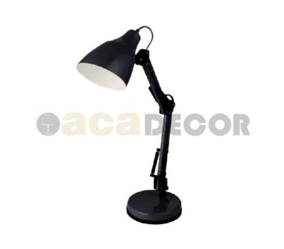 ACA LIGHTING 2918BK TABLE