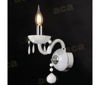 ACA LIGHTING BLK82041WWC CRYSTAL