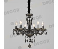 ACA LIGHTING BLK82046PSGC CRYSTAL