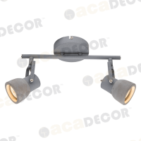 ACA LIGHTING MC171152 CEMENT SPOT