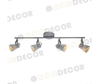 ACA LIGHTING MC171154 CEMENT SPOT