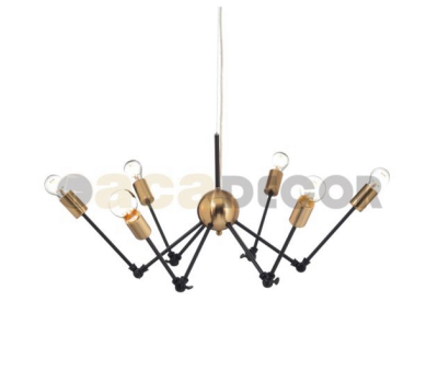 ACA LIGHTING OD680306BB VINTAGE