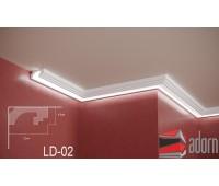 Профил за LED ADORN ПРОФИЛ ЗА LED LD-02