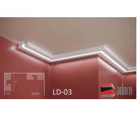 Профил за LED ADORN ПРОФИЛ ЗА LED LD-03