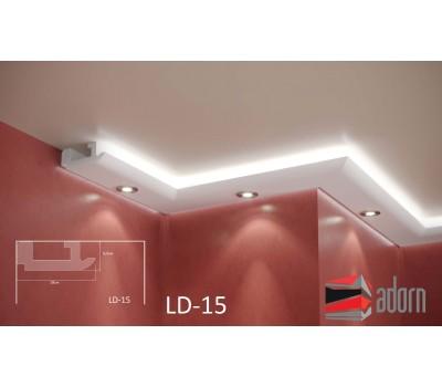 Профил за LED ADORN ПРОФИЛ ЗА LED LD-15