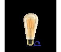 LED крушка BRAYTRON BB46-60620 FILAMENT ST64 E27 6W DIM