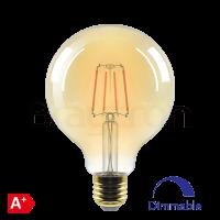 LED крушка BRAYTRON BB47-60620 FILAMENT G95 E27 6W DIM