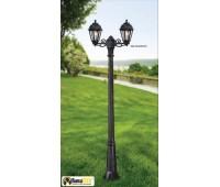 Градински стълб Fumagalli K22.156.S20.AXE27 GIGI BISSO/SABA 2L BLACK
