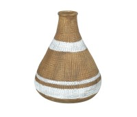 Gallery Direct 5011745889442 Jericho Vase and White