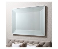 Gallery Direct 5055299400494 Ferrara Mirror Silver