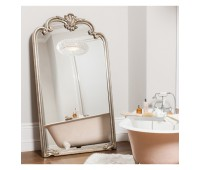 Gallery Direct 5055299408551 Palazzo Leaner Mirror Silver