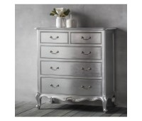 Комод Gallery Direct 5055999223935 Chic 5 Drawer Chest Silver