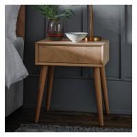 Помощна маса Gallery Direct 5055999243018 Milano 1 Drawer Side Table