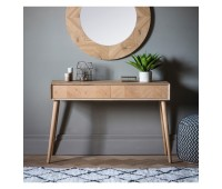 Gallery Direct 5055999243032 Milano 2 Drawer Console Table