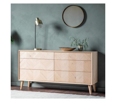 Комод Gallery Direct 5055999252089 Milano 6 Drawer Chest