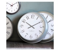 Gallery Direct 5055999252867 Orville Clock Fossil Grey