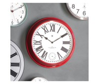 Часовник Gallery Direct 5055999253222 Concord Clock Red