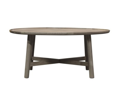 Маса за кафе Gallery Direct 5059413122859 Kingham Round Coffee Table Grey