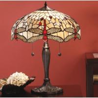 Настолна лампа INTERIORS 1900 TIFFANY 64085 BEIGE DRAGONFLY