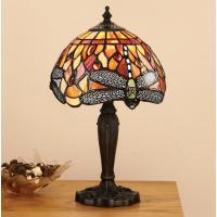 Настолна лампа INTERIORS 1900 TIFFANY 64091 FLAME DRAGONFLY