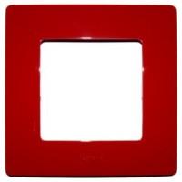 Legrand 665021 Niloe 1-на рамка червен