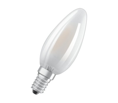 Osram 4058075 101197 LED PARATHOM DIMMABLE FR CL B35 FROSTED FILAMENT 4W-40W E14 2700K