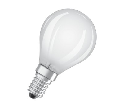 Osram 4052899 959323 LED PARATHOM FROSTED P45 FILAMENT 4W-40W E14 2700K