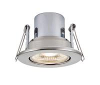 LED луна за вграждане SAXBY 78523 ShieldEco 800 TILT IP65 SATIN NICKEL 8,5W 4000K