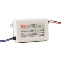 LED трансформатор Meanwell APV-35 12V 35W
