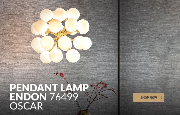 Stylish pendant lamp