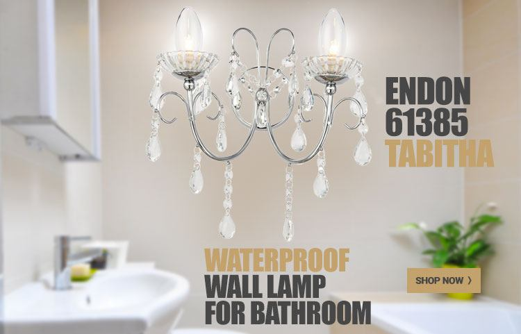 Waterproof wall lamp Tabitha Endon - England